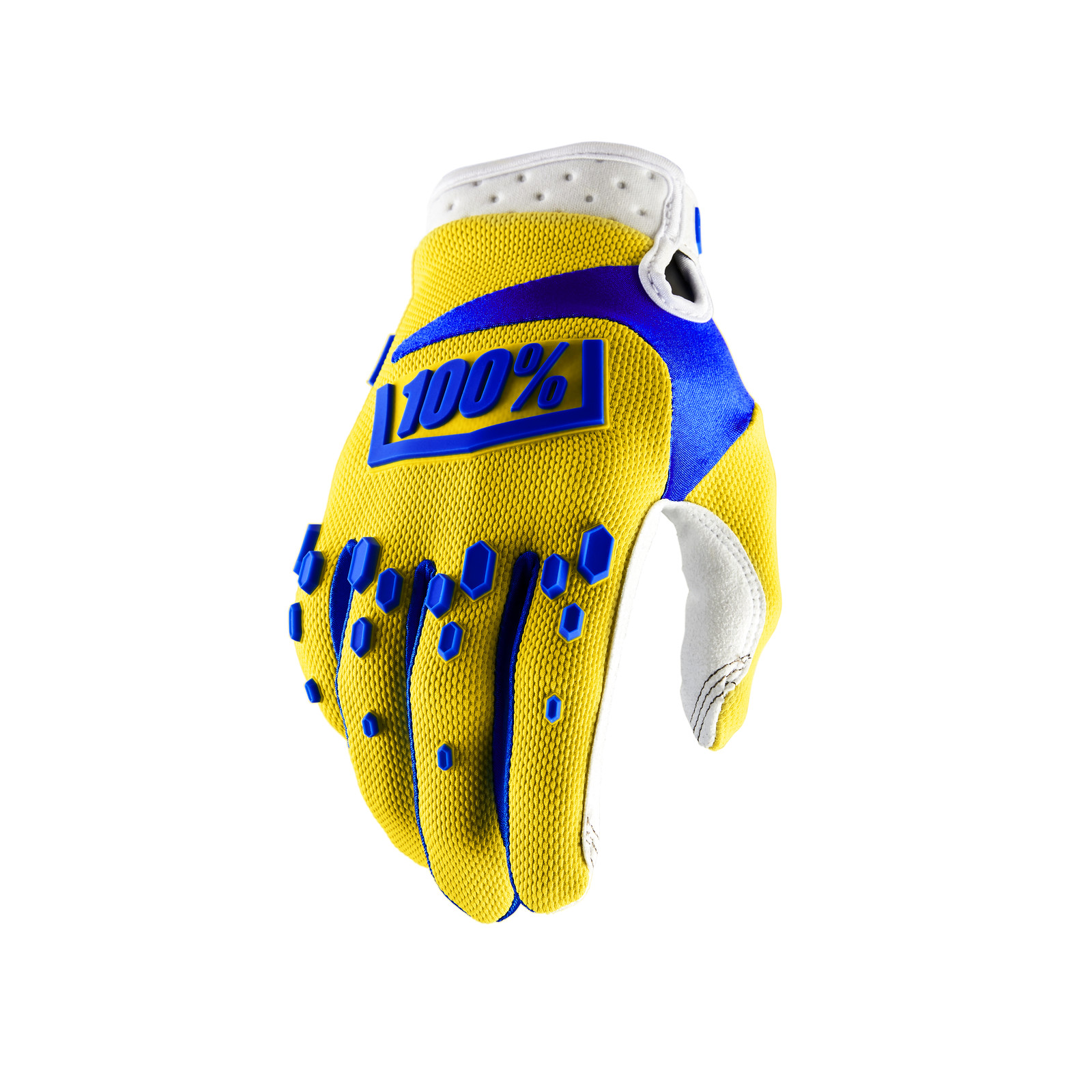 Airmatic Glove - Yellow - 100percent - Motocross Pictures - Vital MX