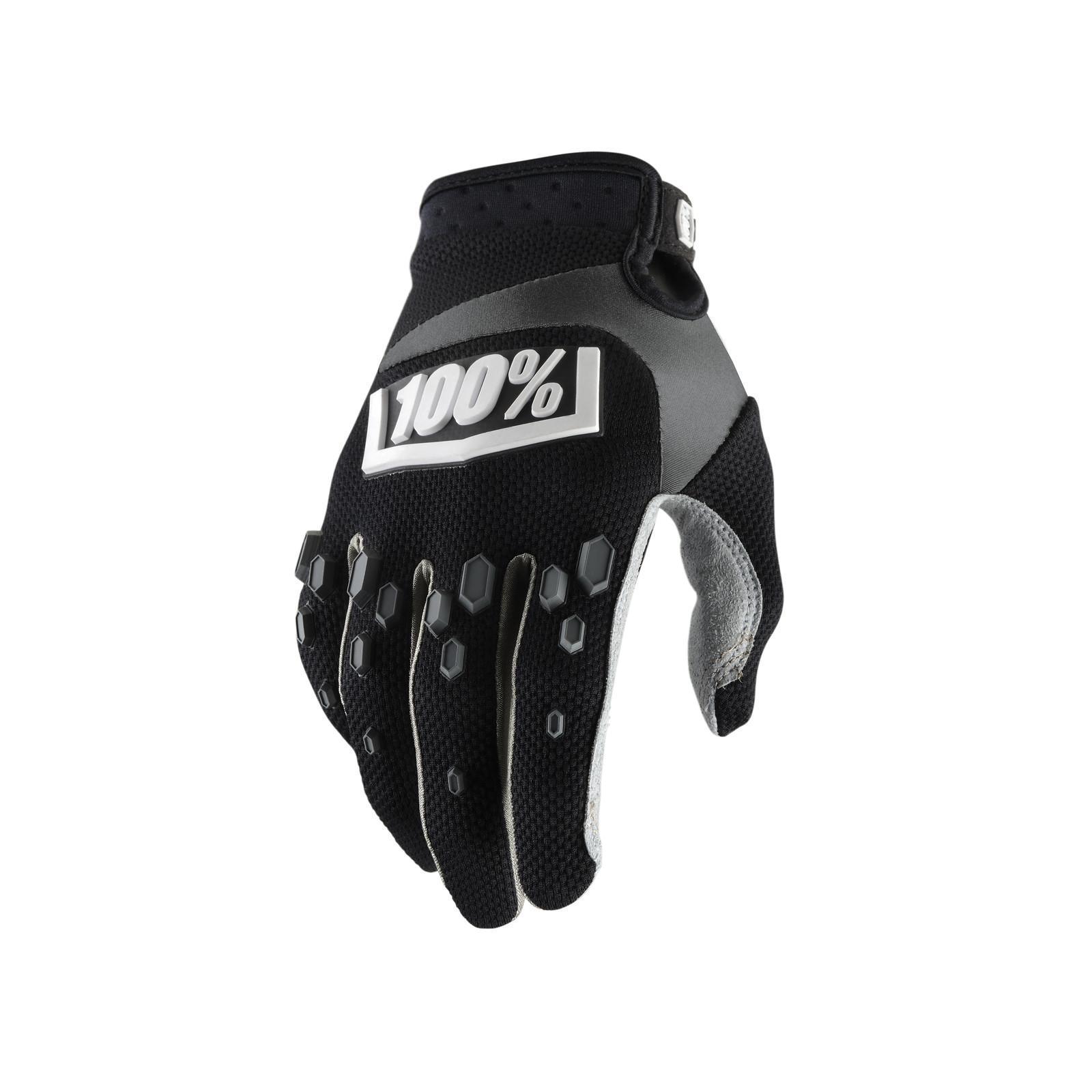 Airmatic Glove - Black - 100percent - Motocross Pictures - Vital MX