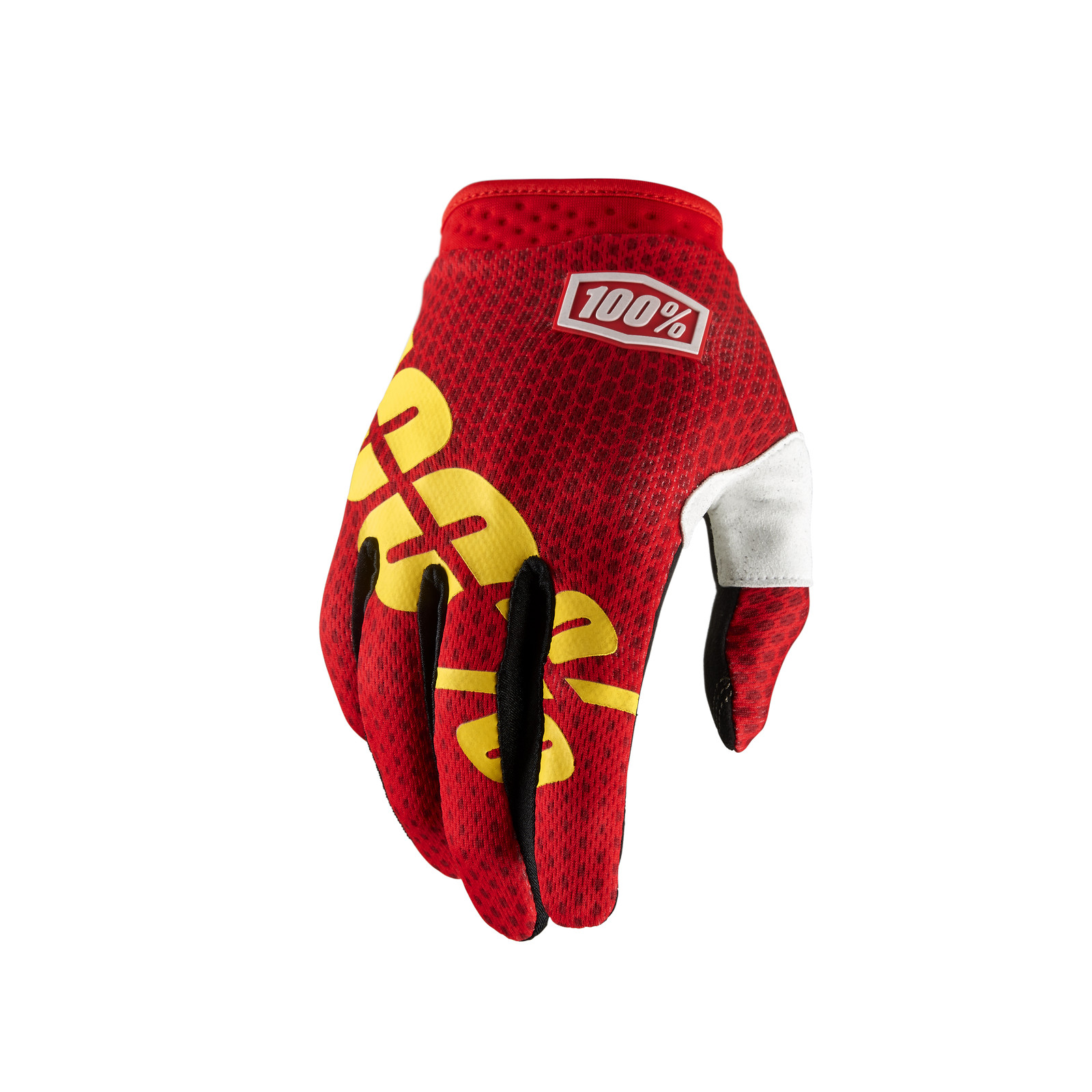 iTrack Glove - Fire Red - 100percent - Motocross Pictures - Vital MX