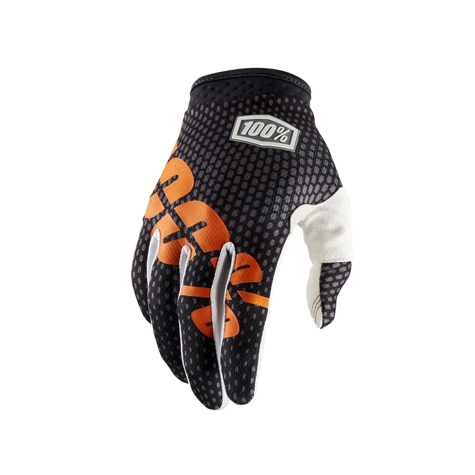 iTrack Glove - Charcoal - 100percent - Motocross Pictures - Vital MX