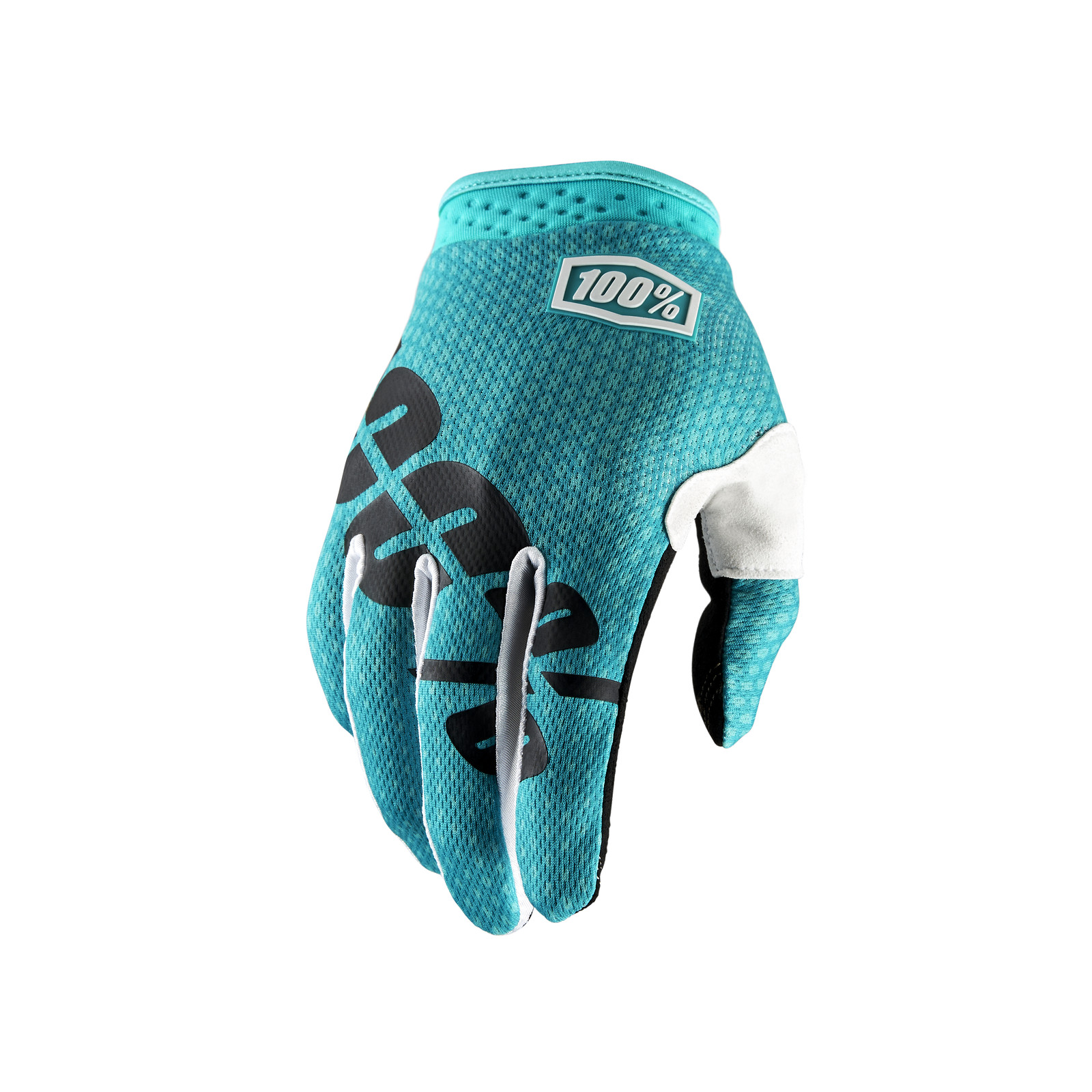 iTrack Glove - Teal - 100percent - Motocross Pictures - Vital MX
