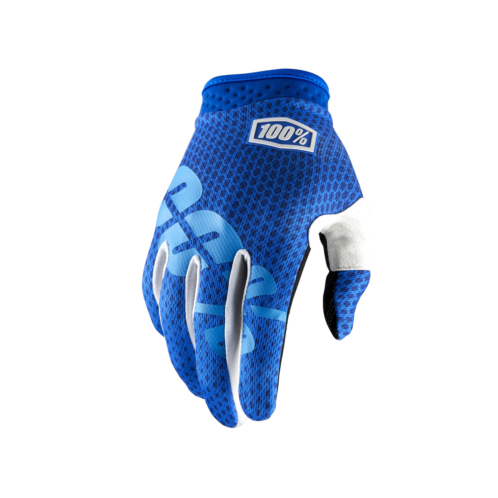 iTrack Glove - Blue - 100percent - Motocross Pictures - Vital MX