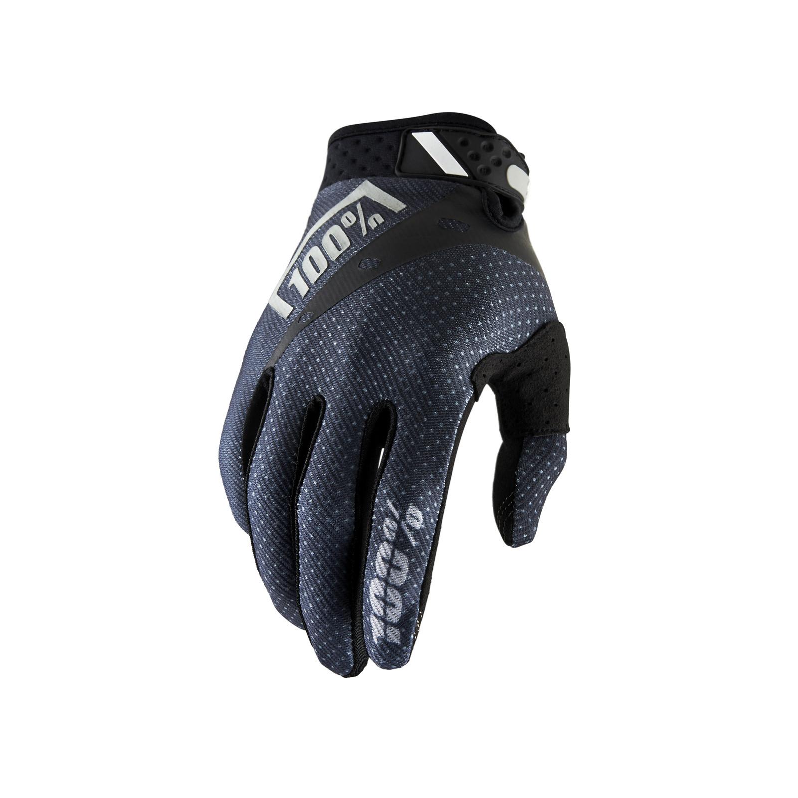 Ridefit Glove - Black - 100percent - Motocross Pictures - Vital MX