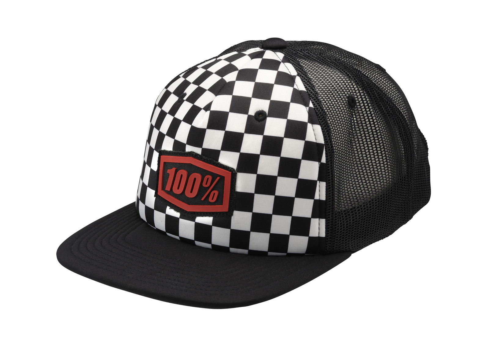 100% Checkers Hat - 100percent - Motocross Pictures - Vital MX