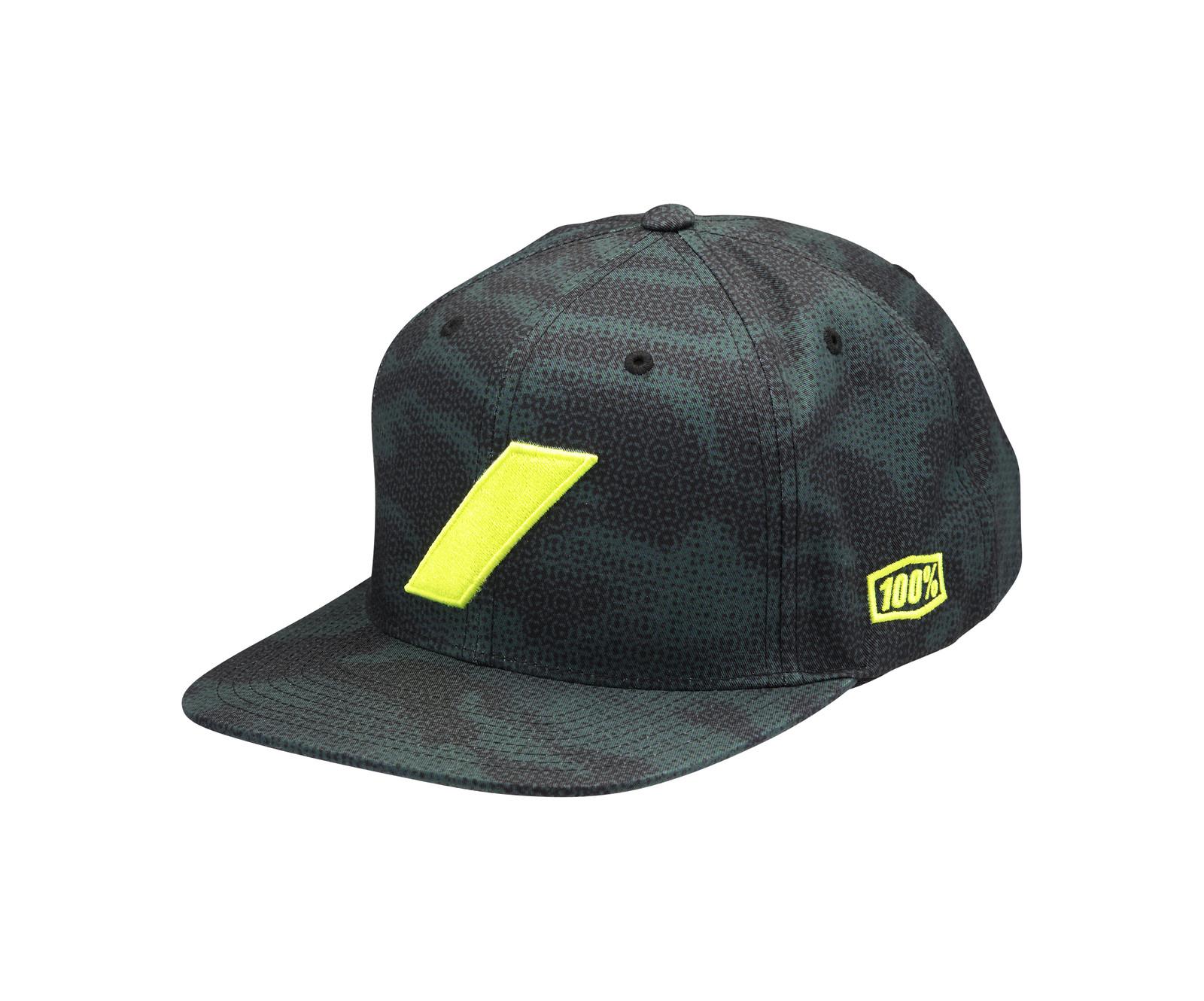 100% Slash Green Hat - 100percent - Motocross Pictures - Vital MX