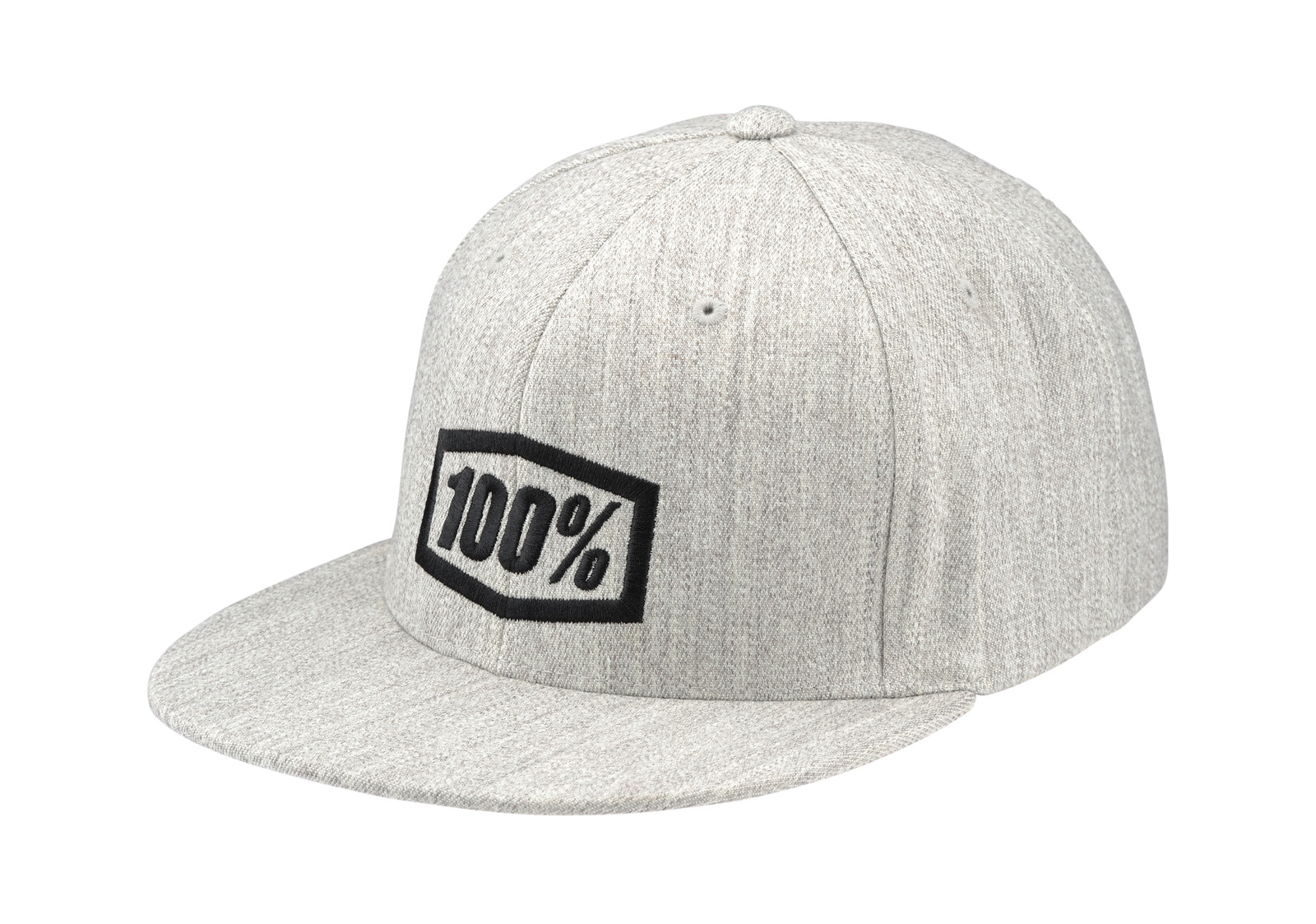 100% Essential Heather Grey Hat - 100percent - Motocross Pictures - Vital MX