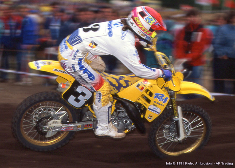 Everts in 1991 - piambro - Motocross Pictures - Vital MX