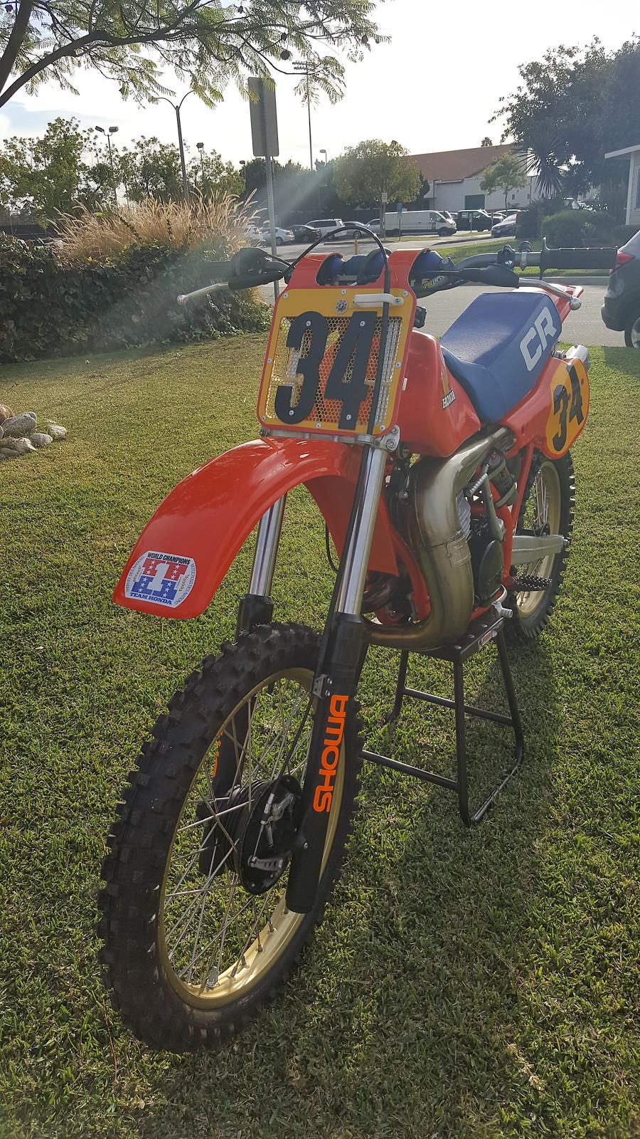 cr480RG2 - Vintage5150 - Motocross Pictures - Vital MX