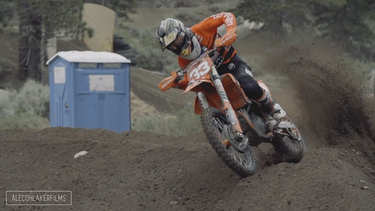 Raw footage of the 50th anniversary Mammoth Motocross amateur race in  Mammoth Lakes, CA