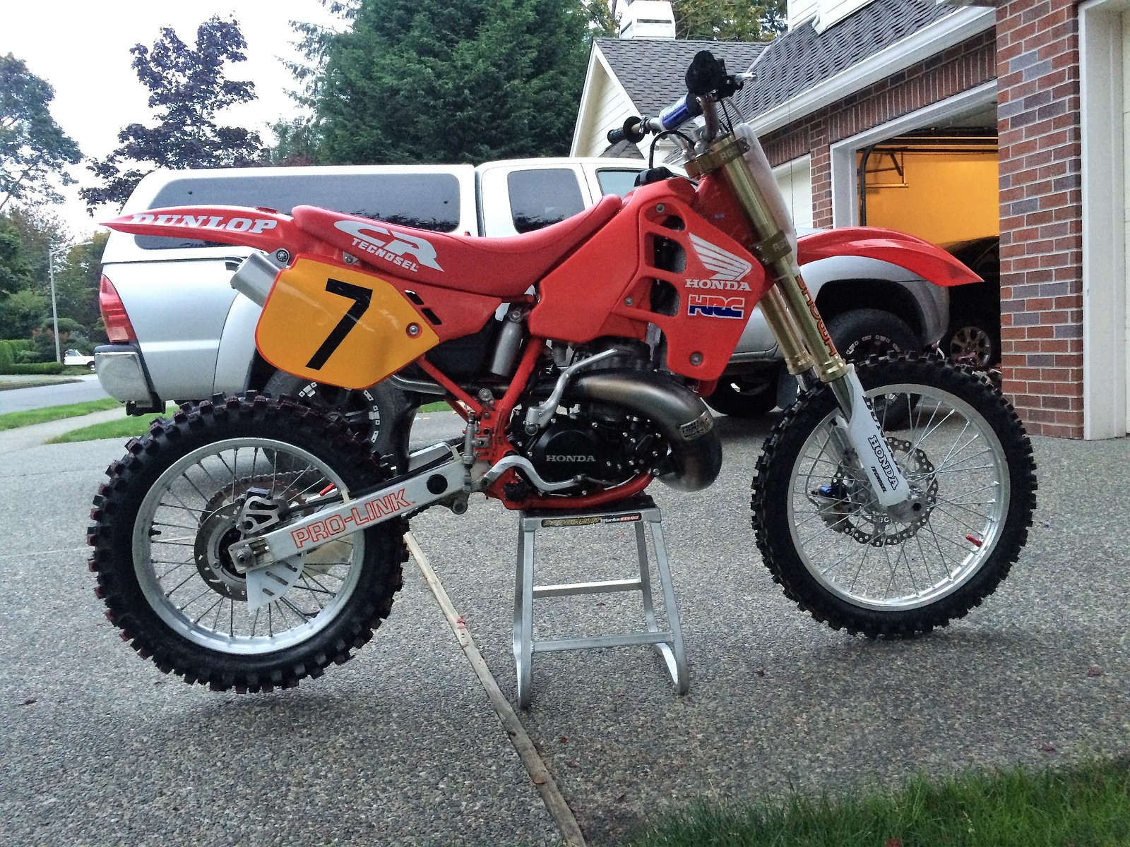 1989 Honda CR500 Original Condition