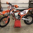2019 KTM 300 XC-W TPI GNCC Sweep Bike