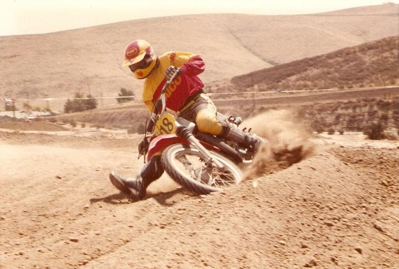1977-John-Maico-Saddleback - CZ28x - Motocross Pictures - Vital MX