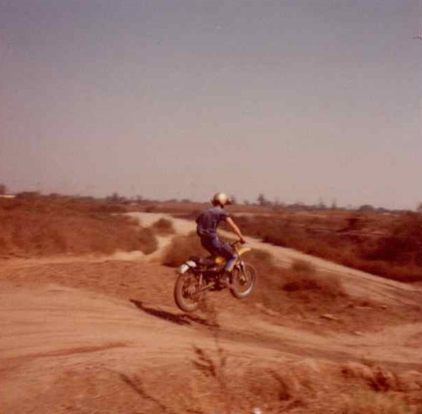Alhambra-Minibike-Park-Yamaha-2 - CZ28x - Motocross Pictures - Vital MX