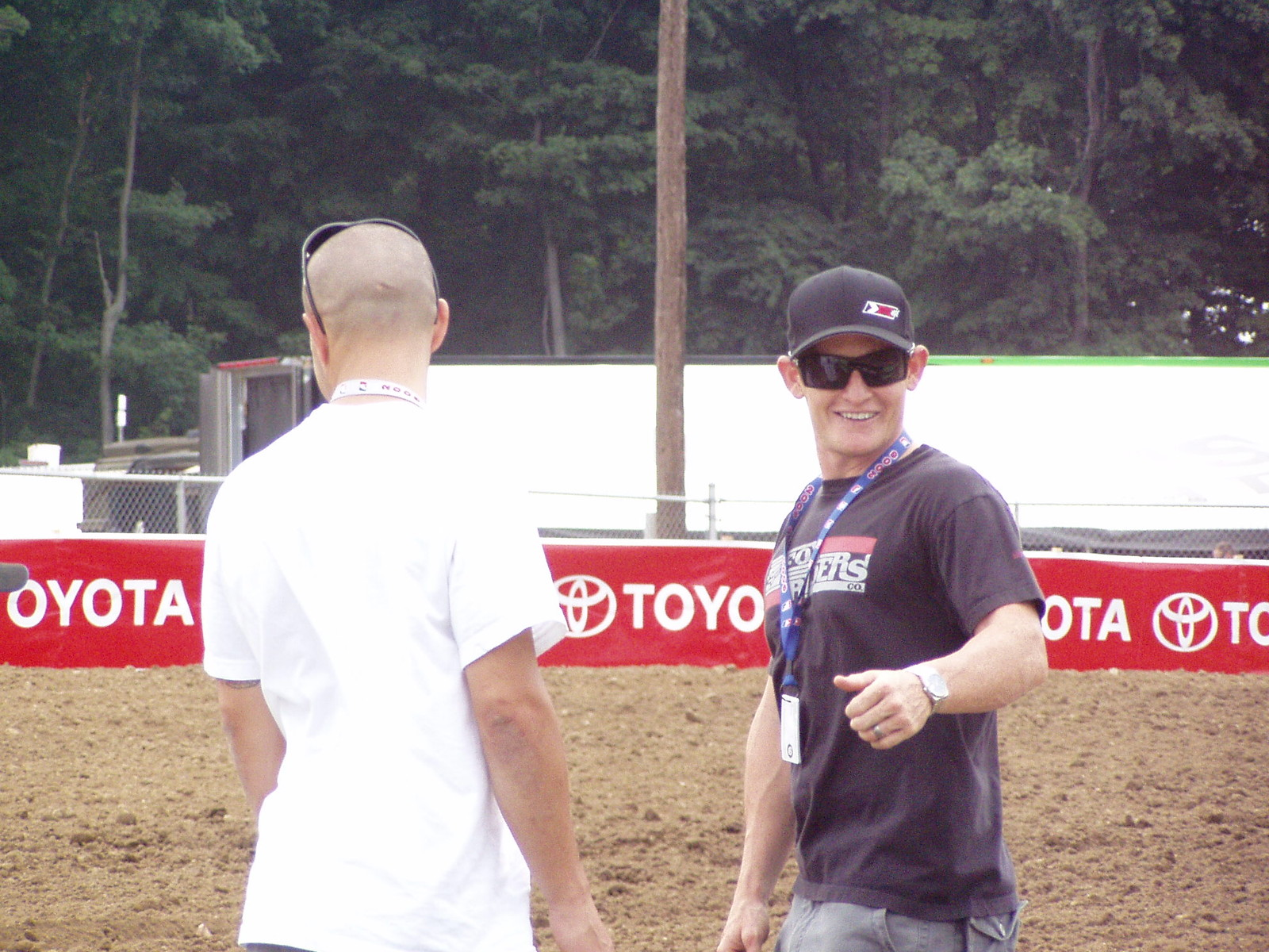 RC & IT talking with fans at Red Bud - SIMX - Motocross Pictures - Vital MX