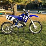 1996 YZ250 Damon Bradshaw tribute