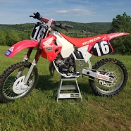 1993 Doug Henry tribute bike - raffled to support Road 2 Recovery