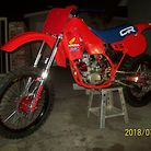 1984 HONDA CR 250R 95% COMPLETED 2018 VERSION