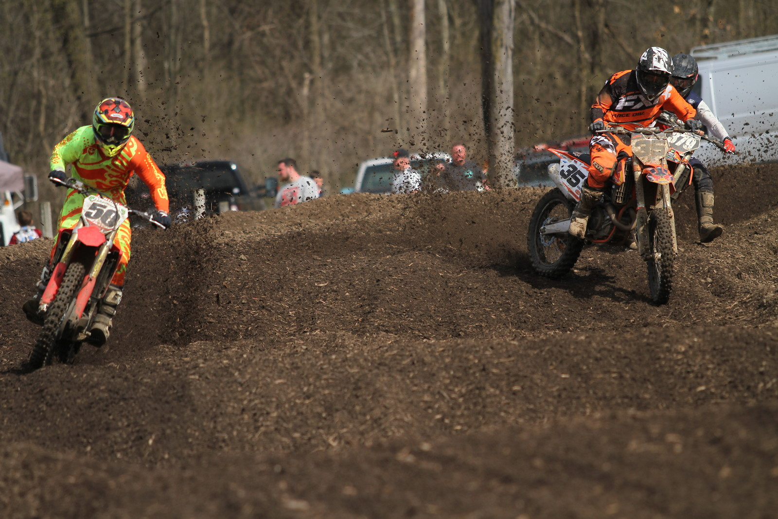 A class battle for 3rd - midwest_moto_media - Motocross Pictures - Vital MX