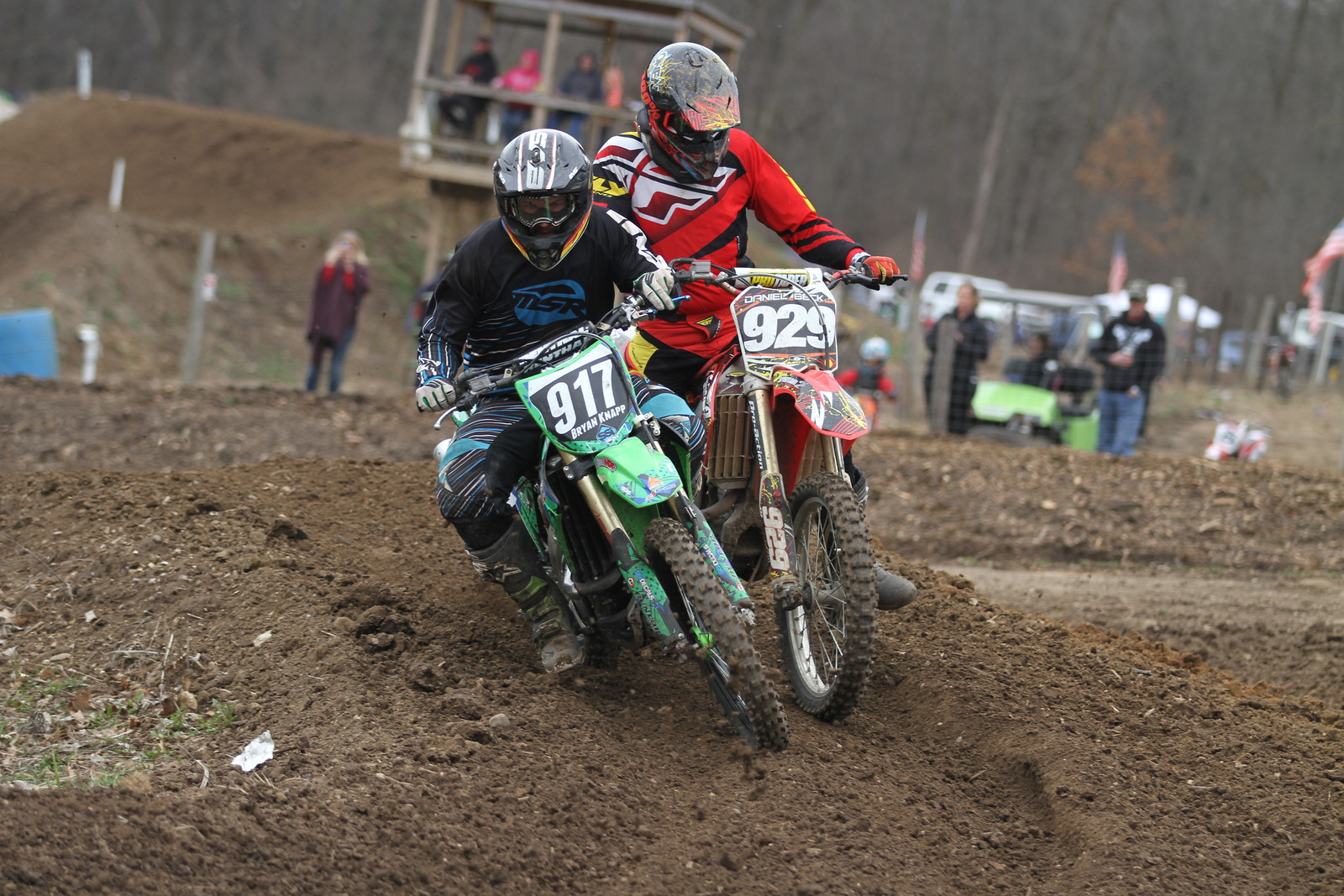 Bryan Knapp and Daniel Beck - midwest_moto_media - Motocross Pictures - Vital MX