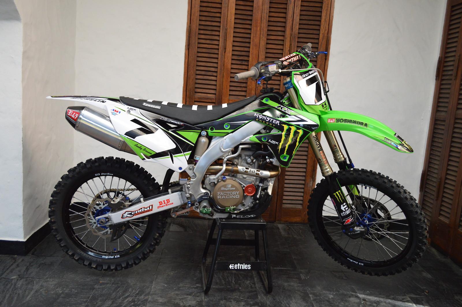 2012 KX450F
