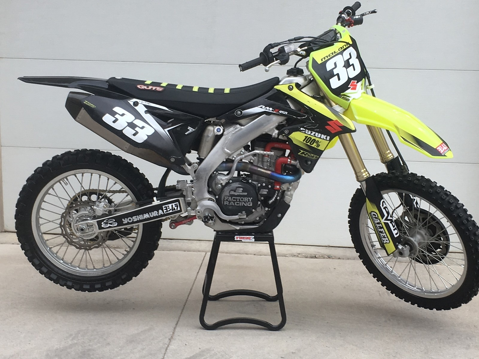 2014 Suzuki RMZ 450