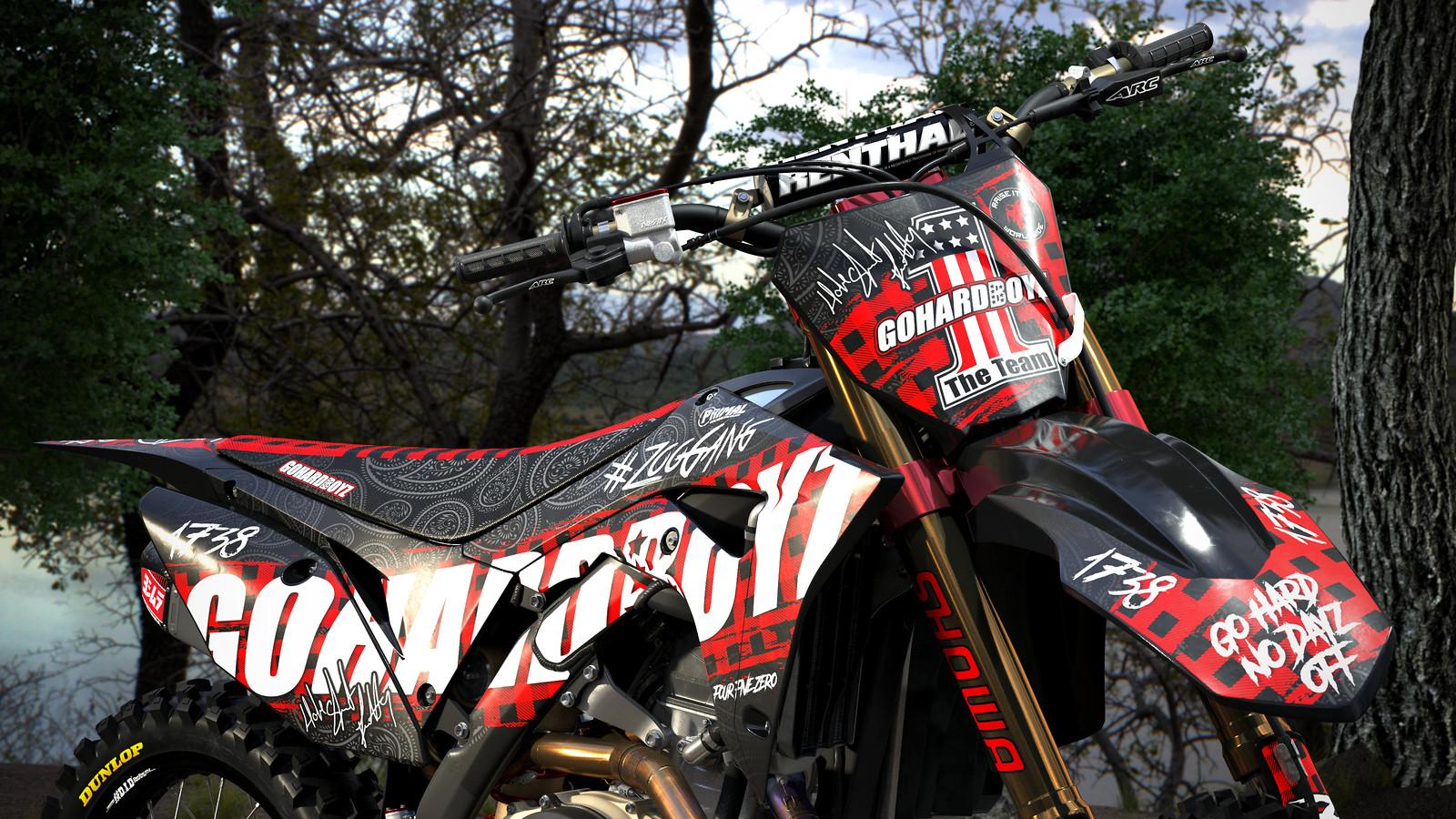 Primal X Motorsports - MX - Graphics - Motocross - Fetty Wap - Go Hard Boyz 2 - PRIMAL_X_MOTORSPORTS - Motocross Pictures - Vital MX