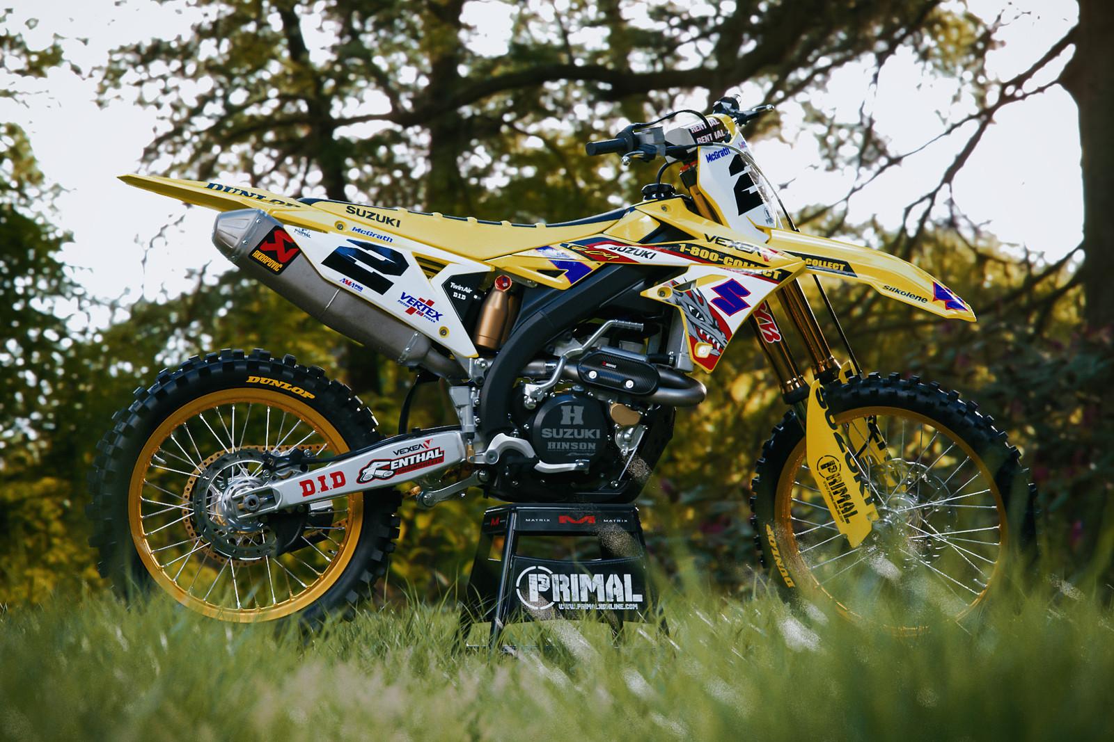 PRIMAL X MOTORSPORTS   MX GRAPHICS   McGrath Replica  2018 RMZ - PRIMAL_X_MOTORSPORTS - Motocross Pictures - Vital MX
