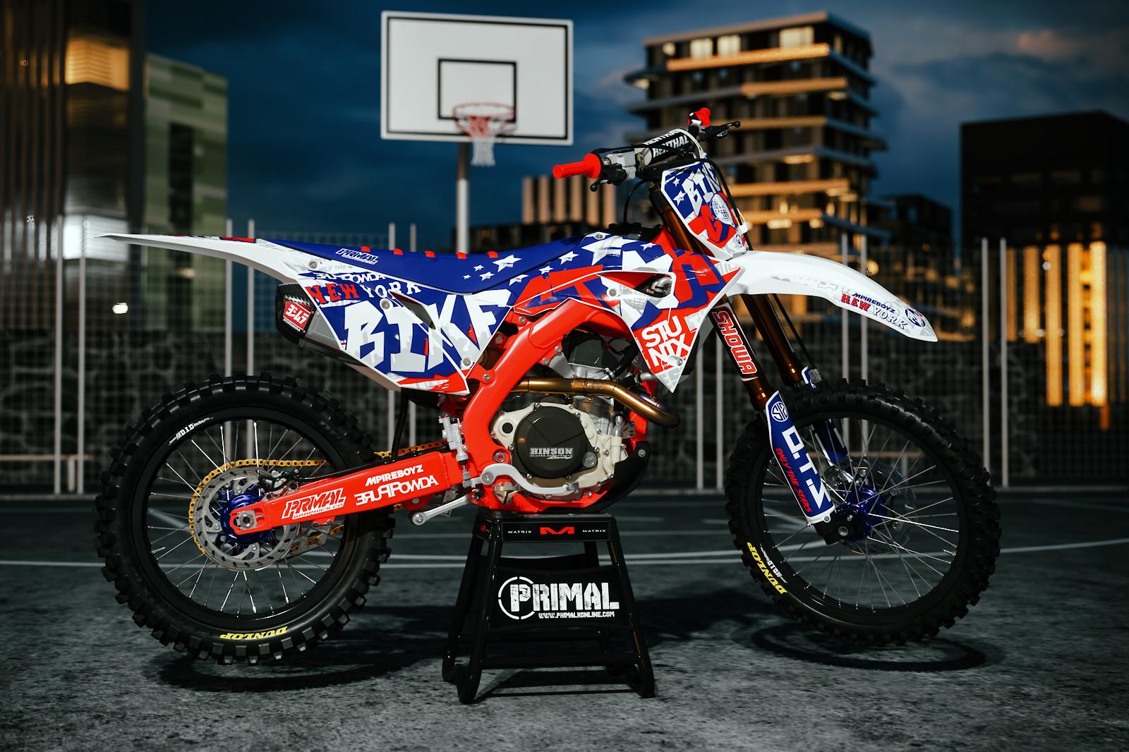 CRF leekydabikestar promo PRIMAL X MOTORSPORTS   MX GRAPHICS  - PRIMAL_X_MOTORSPORTS - Motocross Pictures - Vital MX