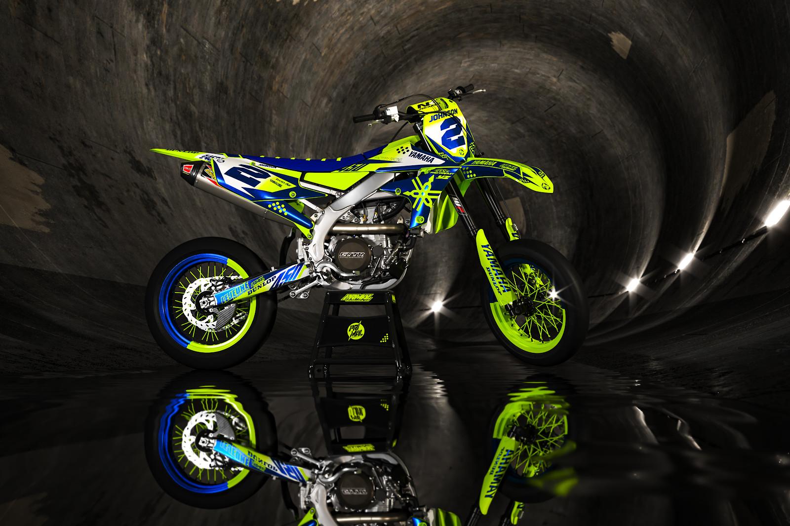 PRIMAL X MOTORSPORTS - YZ450F 2019 YAMAHA MX GRAPHICS MOTOCROSS GRAPHICS - PRIMAL_X_MOTORSPORTS - Motocross Pictures - Vital MX