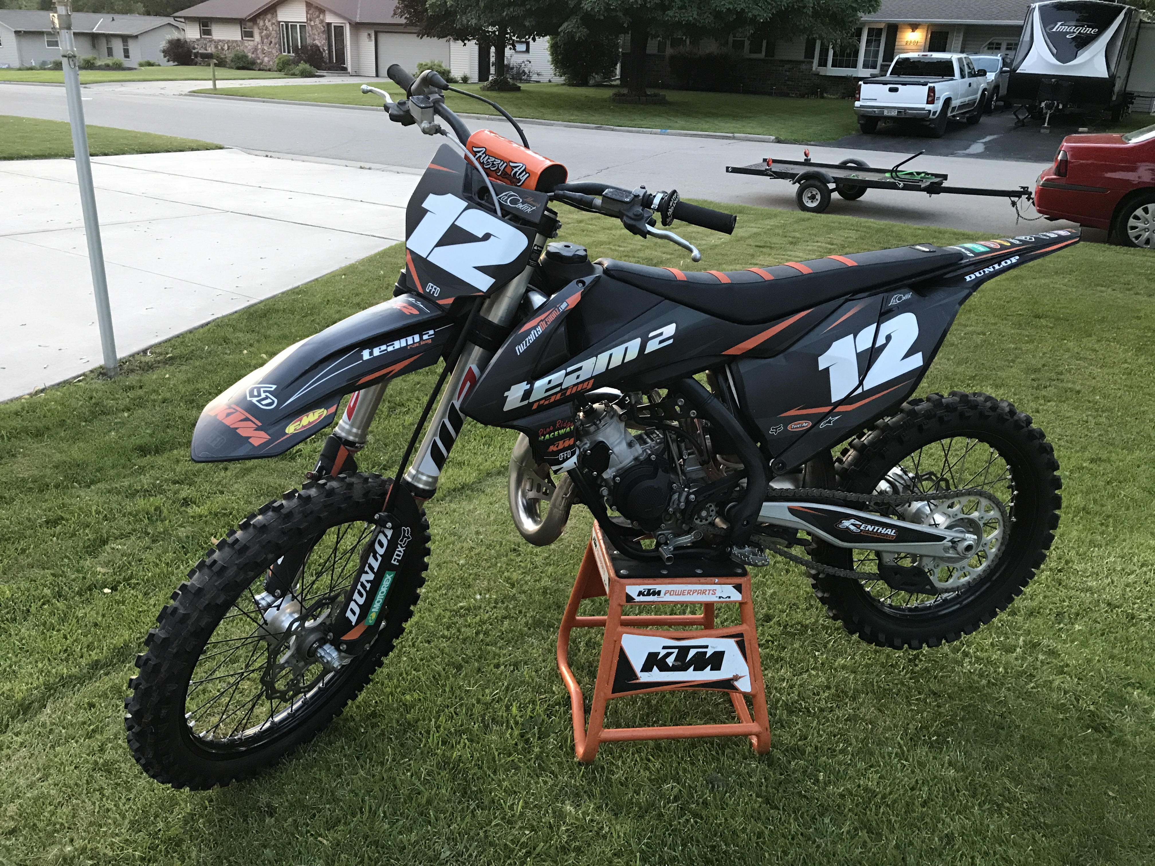 2017 ktm sx 125 mxgurl12 39 s bike check vital mx. Black Bedroom Furniture Sets. Home Design Ideas