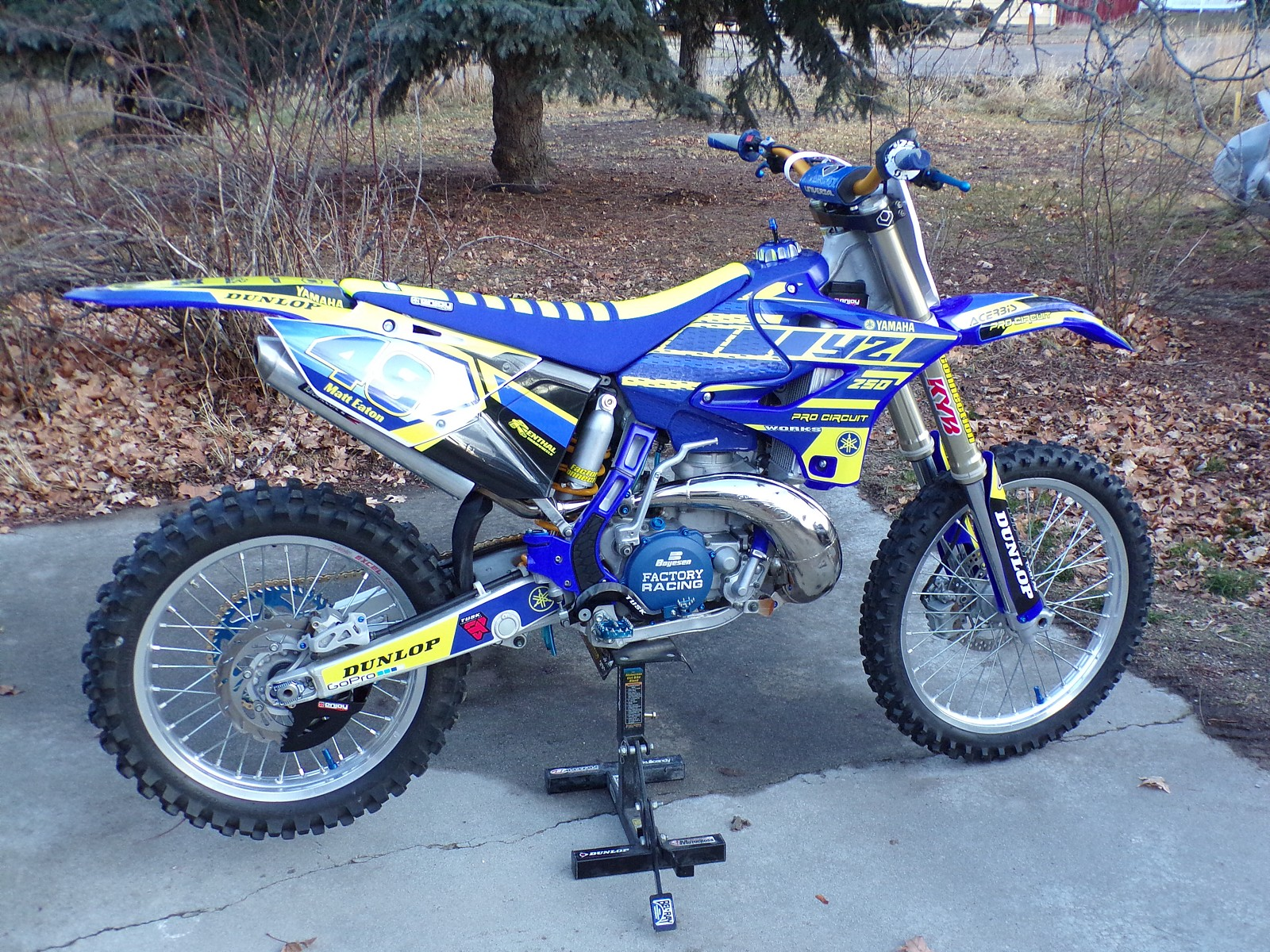 100 0363 - RMZFourfitty - Motocross Pictures - Vital MX