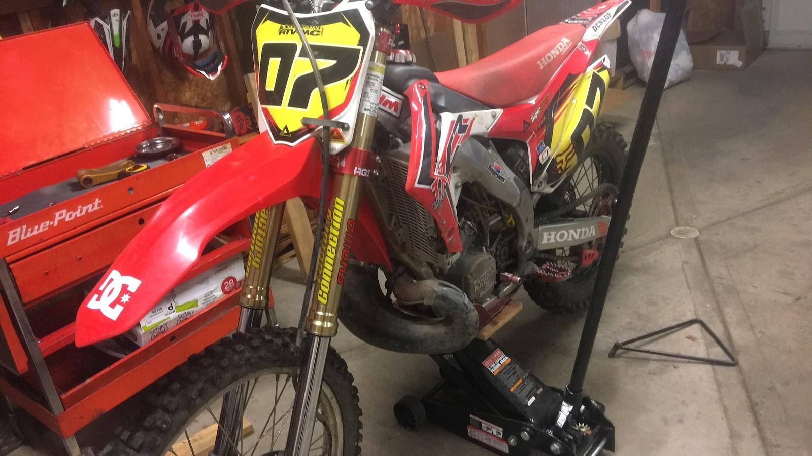 Work in progress  - (C)oal(R)egion250 - Motocross Pictures - Vital MX