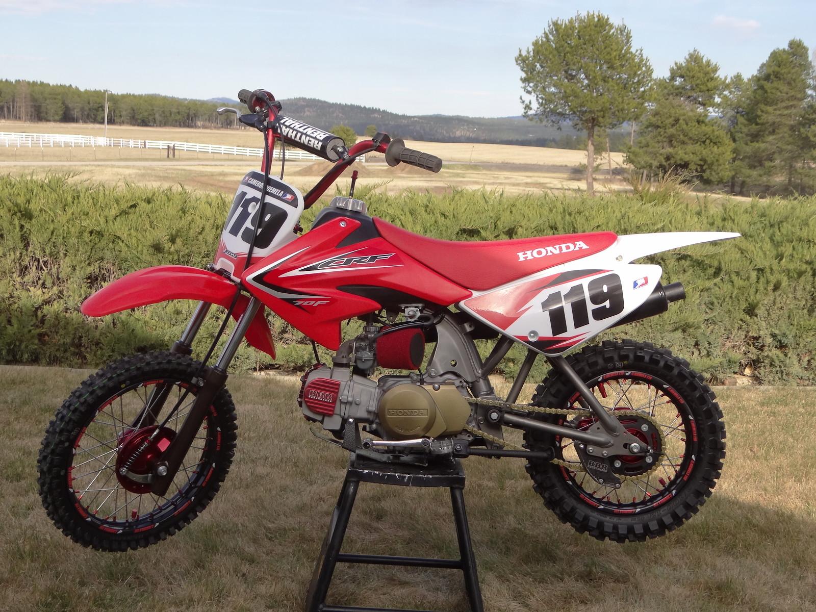 CRF70 - Cameron Niemela - Motocross Pictures - Vital MX