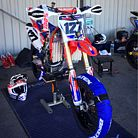 HONDA 450 CRF 2005 (Supermoto)