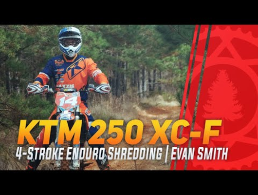 RAW KTM 250 XC-F 4-Stroke Woods Shredding