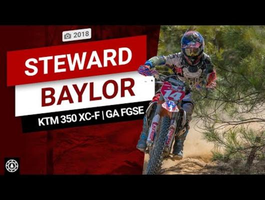 KTM 350 XC-F Shreds Georgia Sand Track