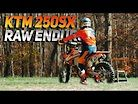 KTM 250 SX 2-Stroke ENDURO RAW