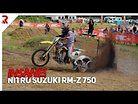 INSANE Nitromethane Suzuki RM-Z 750 slays Bay City Hill!