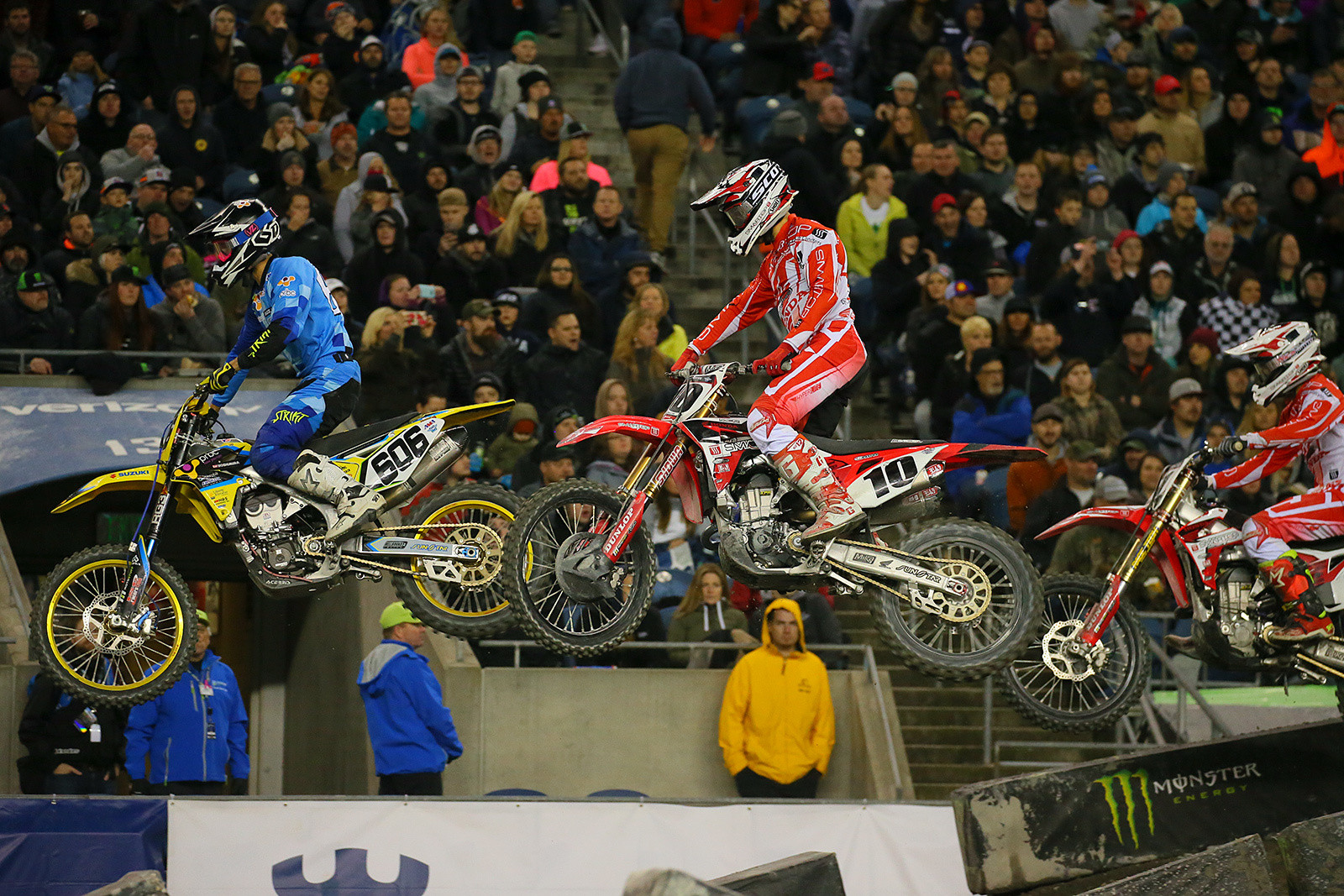 Ronnie Stewart, Justin Brayton, and Vince Friese - Photo Blast: Seattle - Motocross Pictures - Vital MX