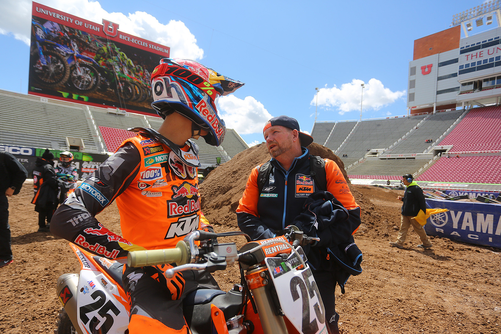 Marvin Musquin and Frankie Latham - Vital MX Pit Bits: Salt Lake City - Motocross Pictures - Vital MX