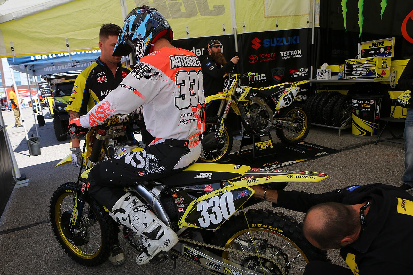 Cade Autenrieth - Vital MX Pit Bits: Salt Lake City - Motocross Pictures - Vital MX