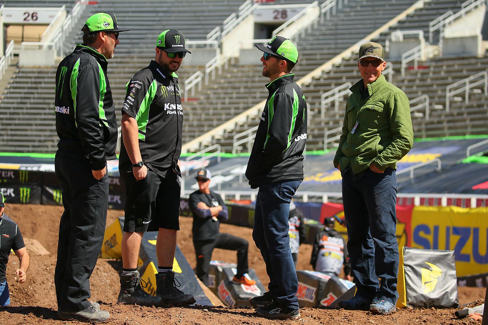 Eli and John Tomac - Vital MX Pit Bits: Salt Lake City - Motocross Pictures - Vital MX