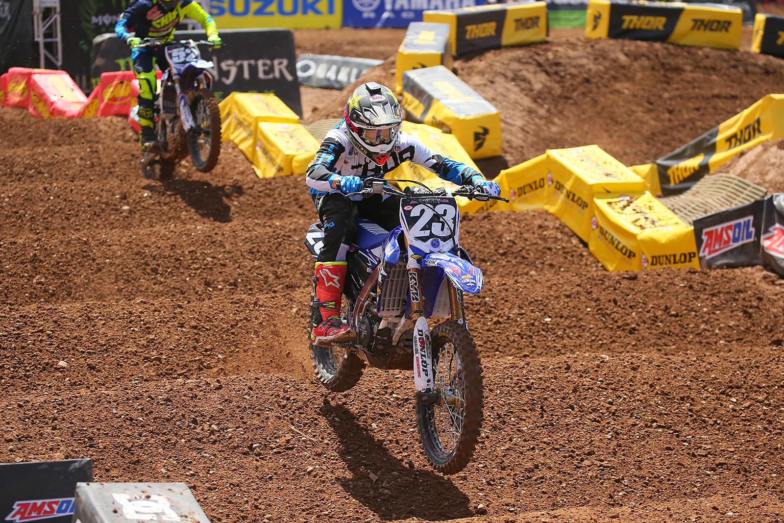 Aaron Plessinger - Vital MX Pit Bits: Salt Lake City - Motocross Pictures - Vital MX