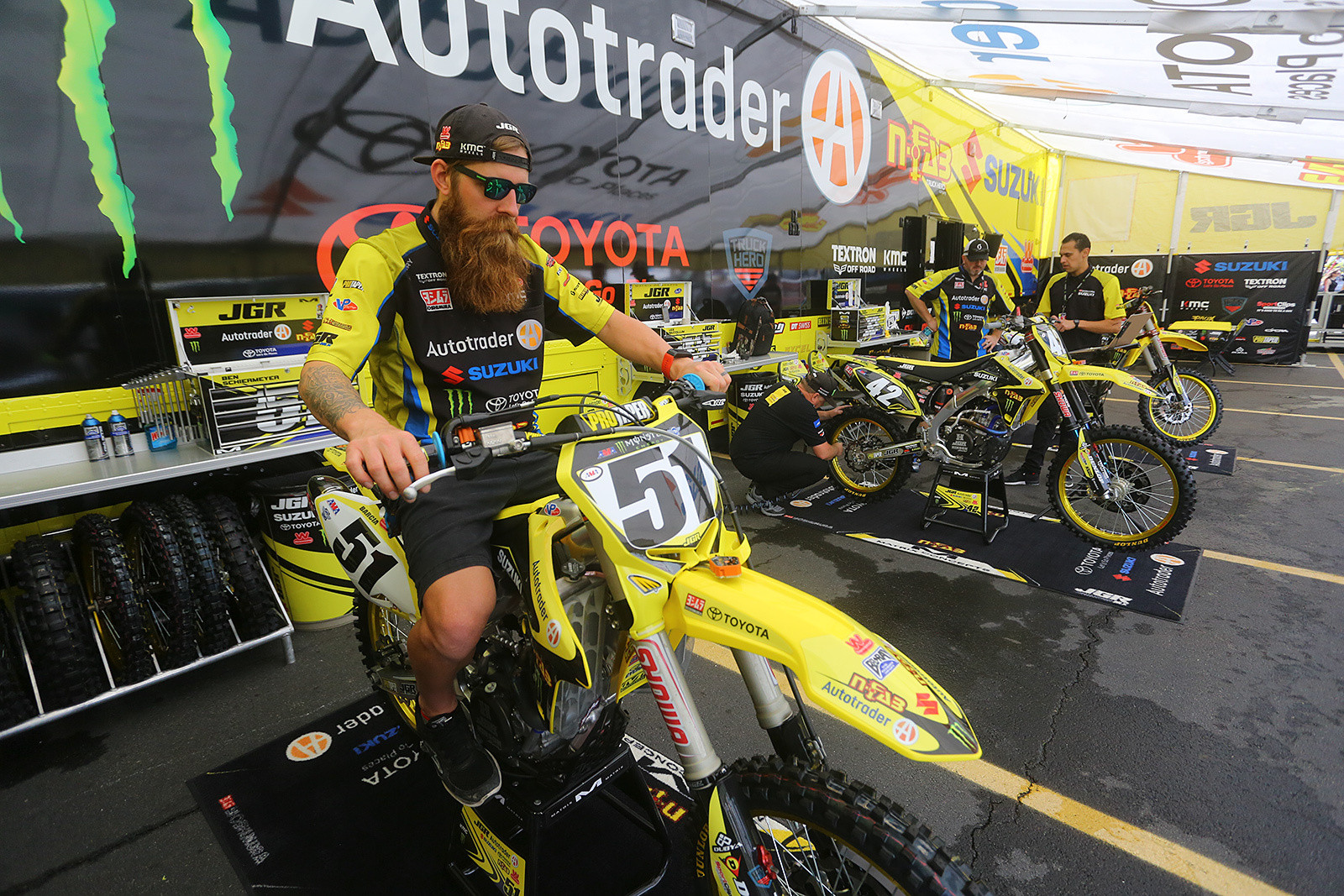 Ben Schiermeyer - Vital MX Pit Bits: East Rutherford - Motocross Pictures - Vital MX