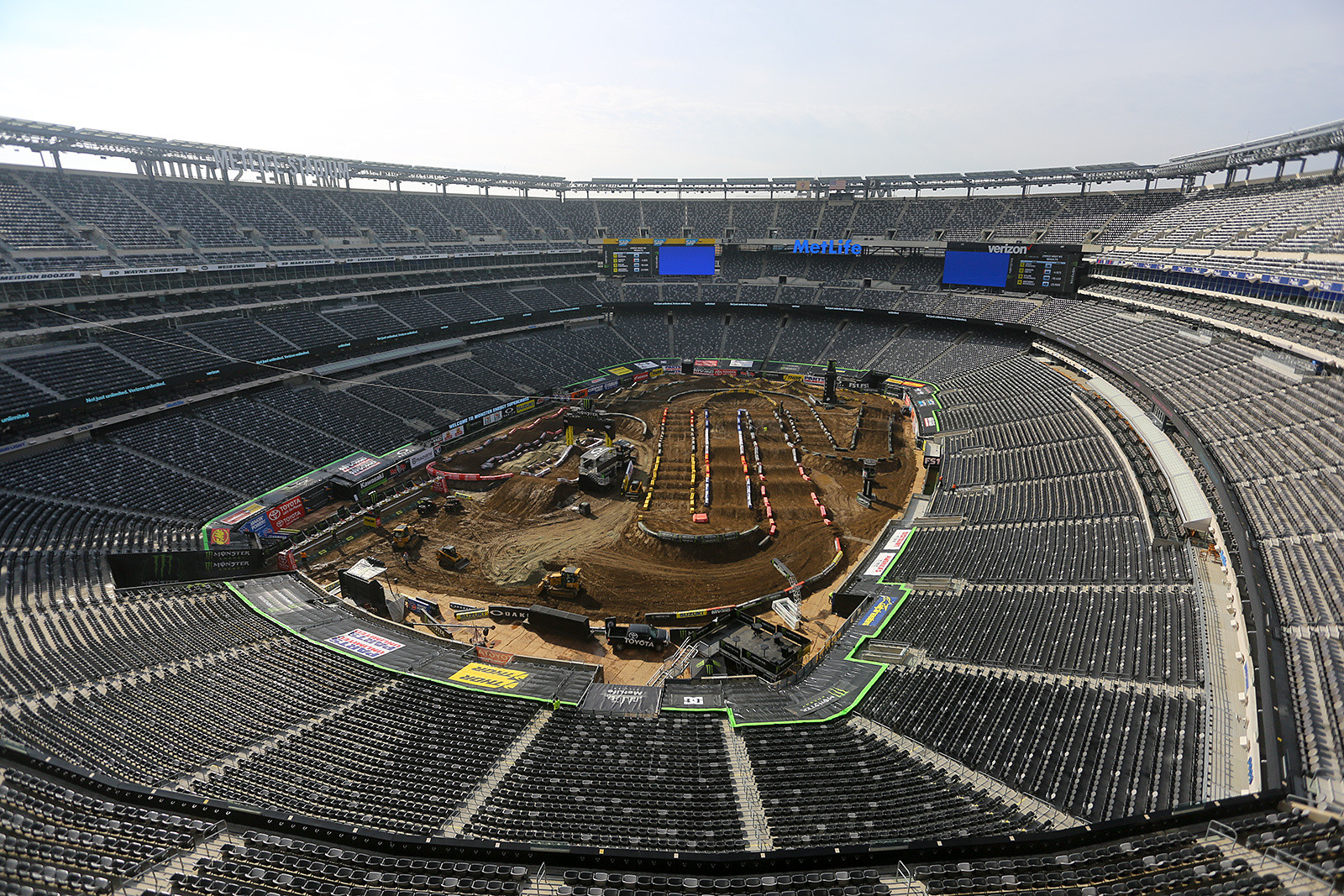 Met Life Stadium - Vital MX Pit Bits: East Rutherford - Motocross Pictures - Vital MX