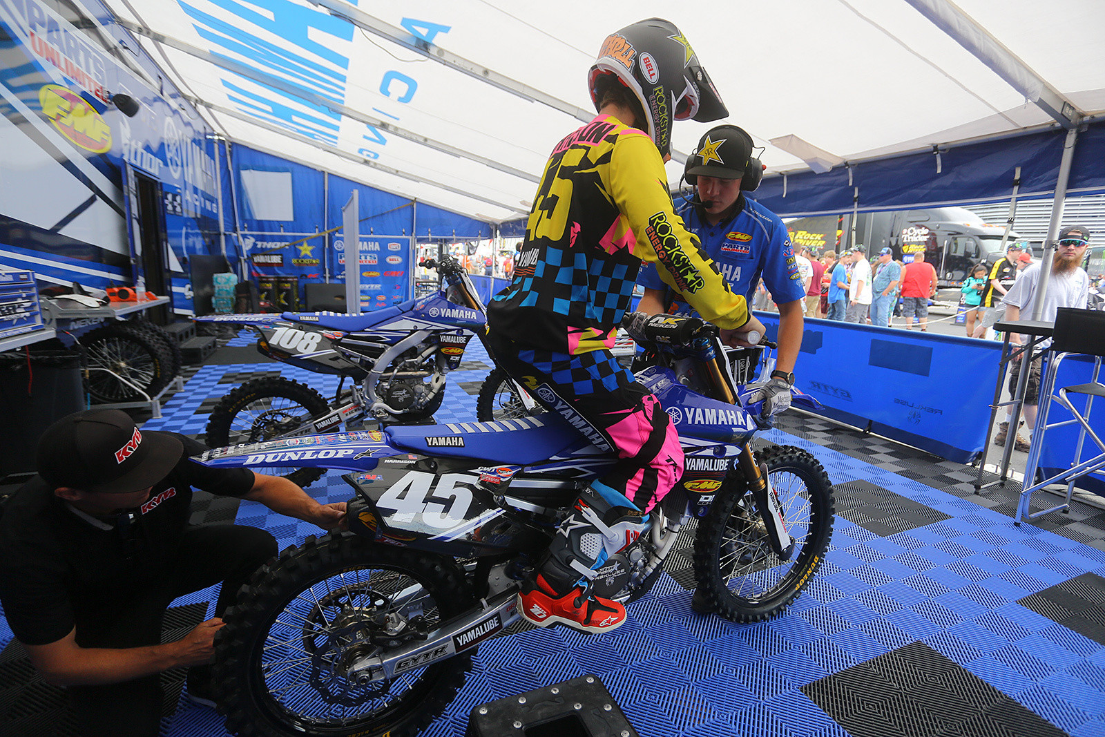 Mitchell Harrison - Vital MX Pit Bits: East Rutherford - Motocross Pictures - Vital MX