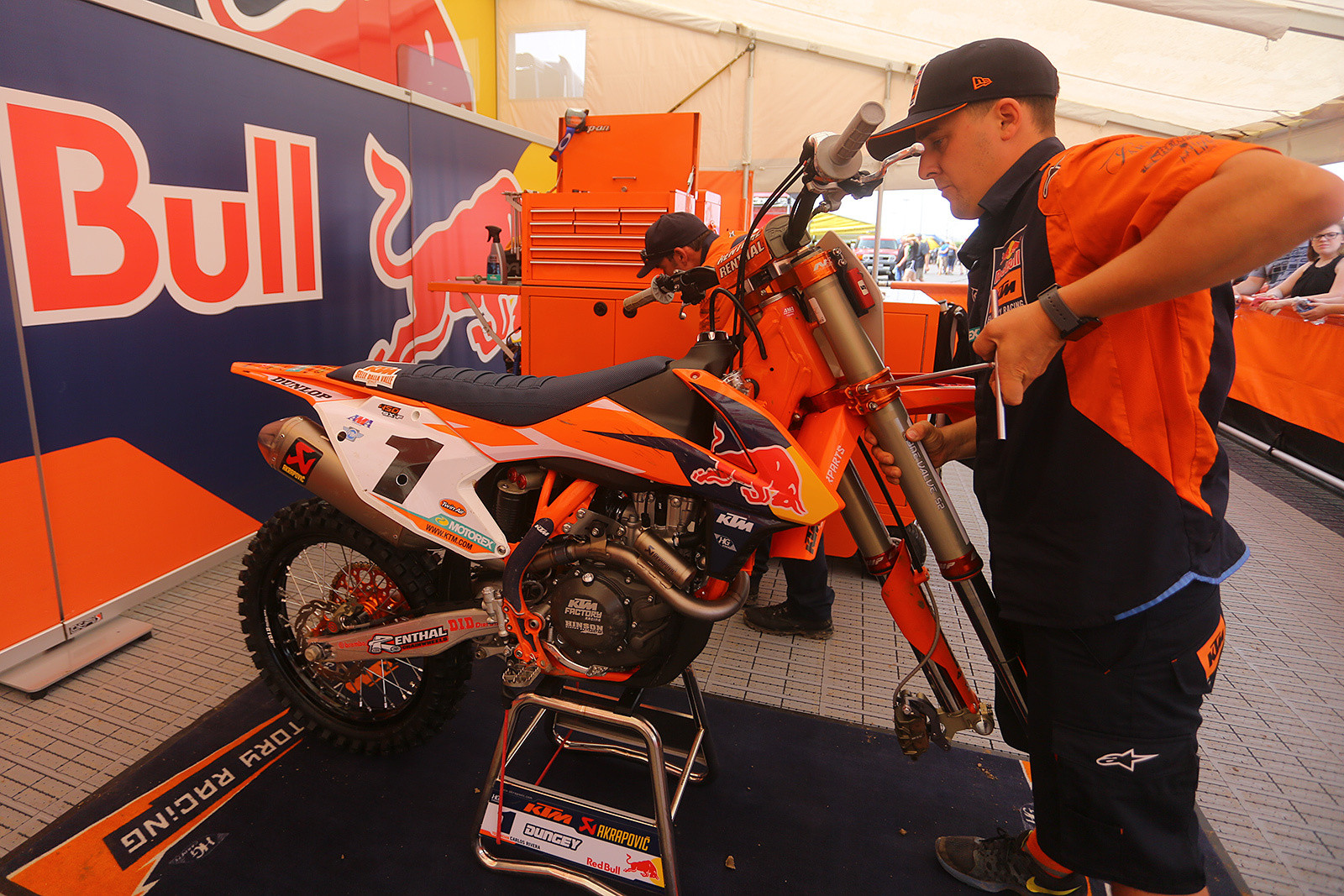 Matt Winter - Vital MX Pit Bits: East Rutherford - Motocross Pictures - Vital MX