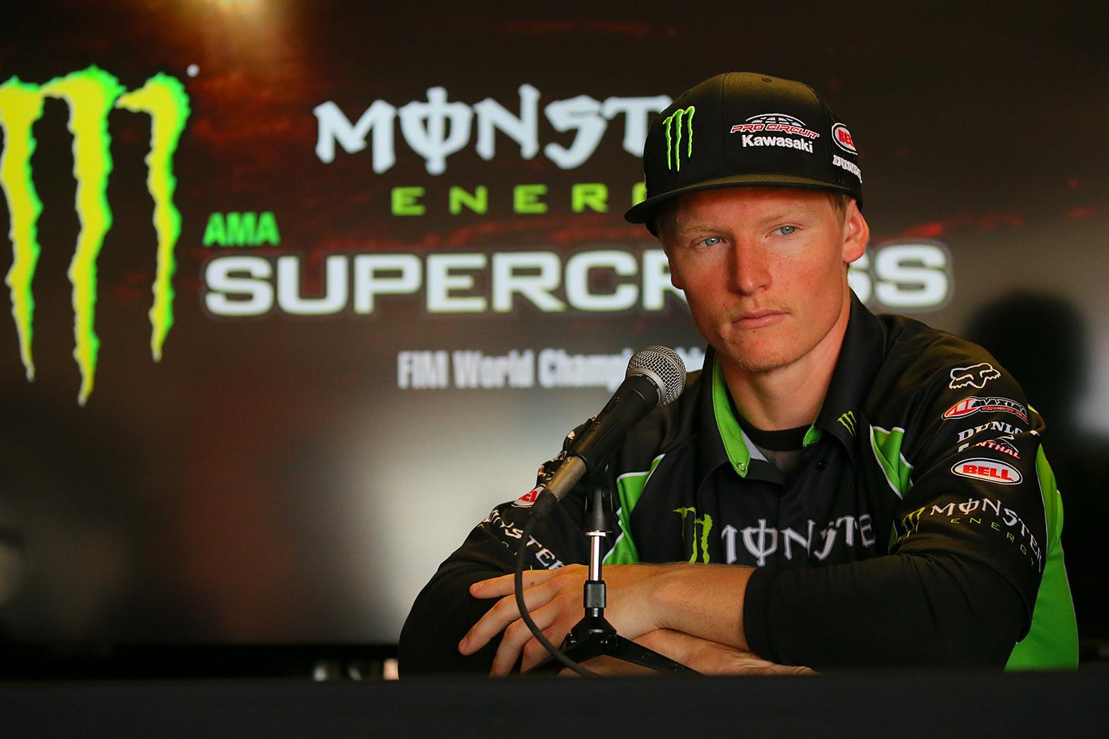Justin Hill - Vital MX Pit Bits: Las Vegas - Motocross Pictures - Vital MX