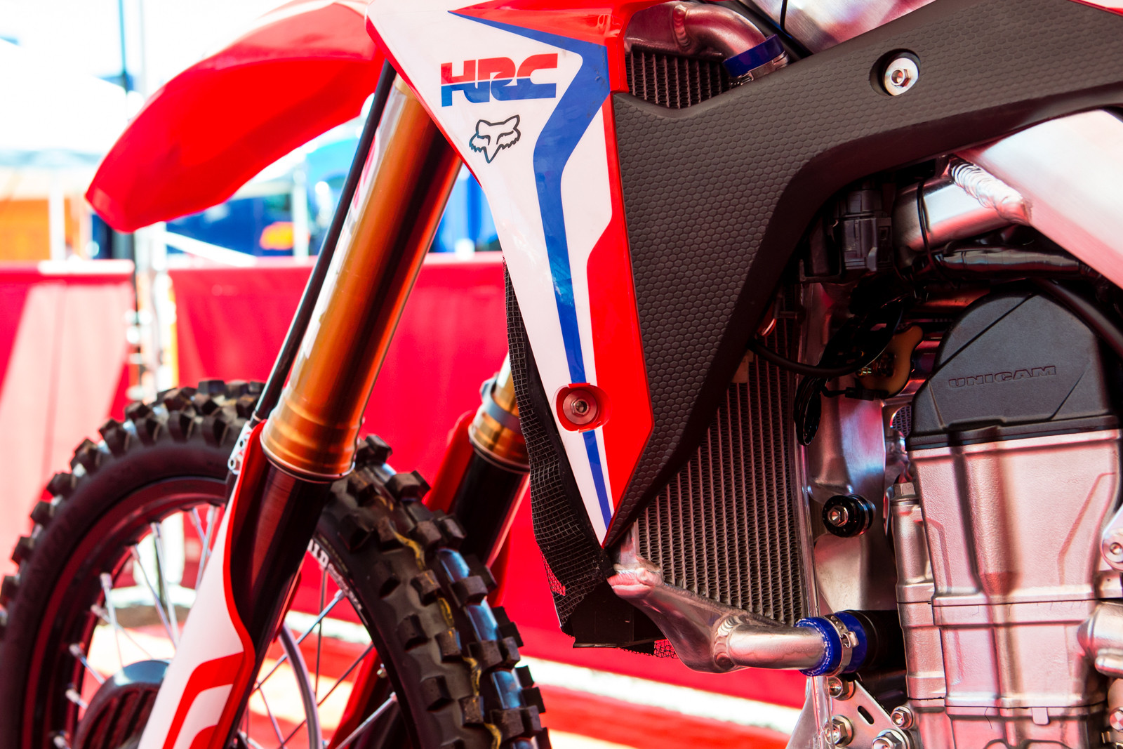 Oversized radiators - Vital MX Pit Bits: Hangtown - Motocross Pictures - Vital MX