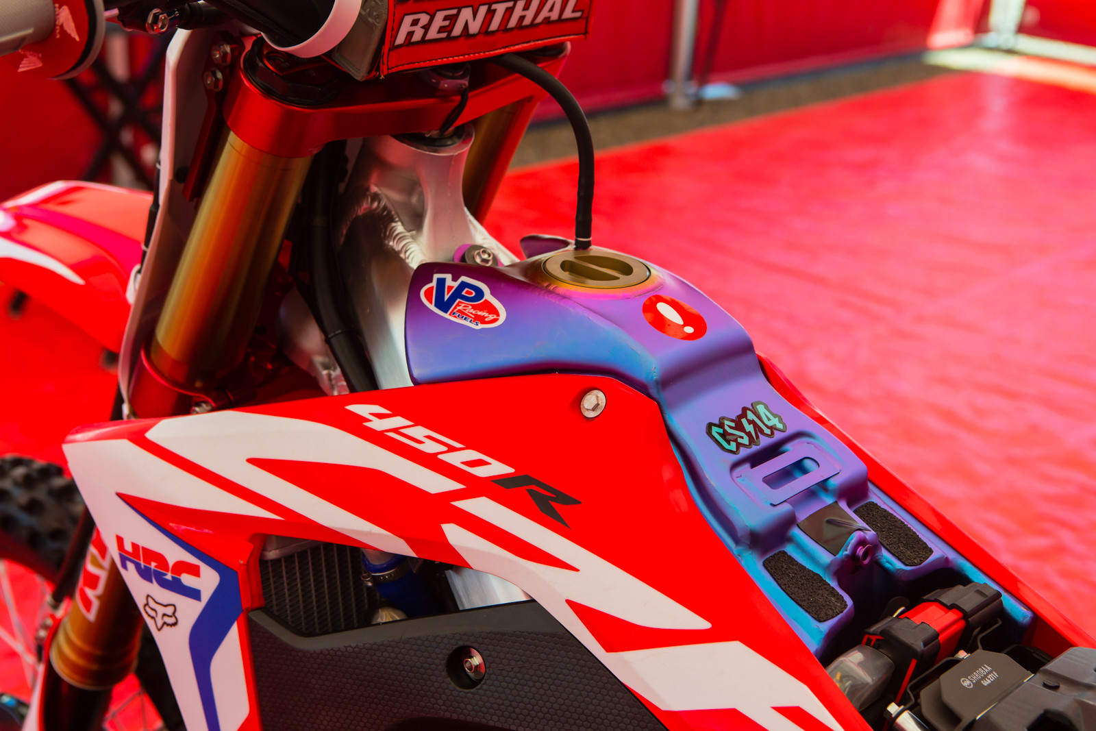 Ti tank - Vital MX Pit Bits: Hangtown - Motocross Pictures - Vital MX
